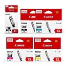 CANON PGI-780XL-BK+CLI-781XL-BK/C/M/Y 原廠墨水組合