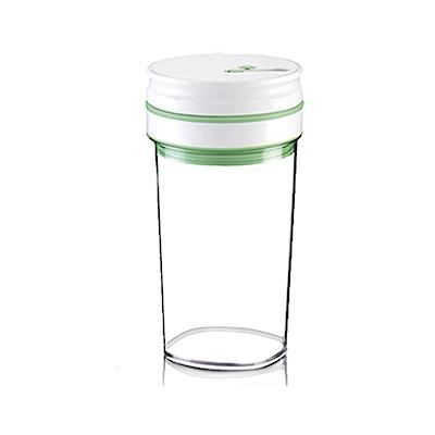 金德恩 台灣製造專利款 高科技智能晶片經典按壓式真空保鮮罐禮盒1L