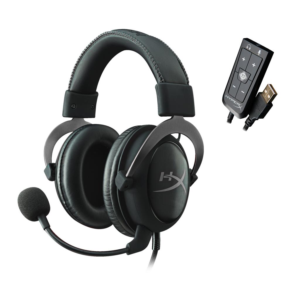 HyperX Cloud II 電競耳機《金屬灰》