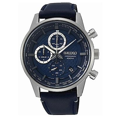 SEIKO CS即刻準確時尚計時腕錶/SSB333P1/8T67-00G0B