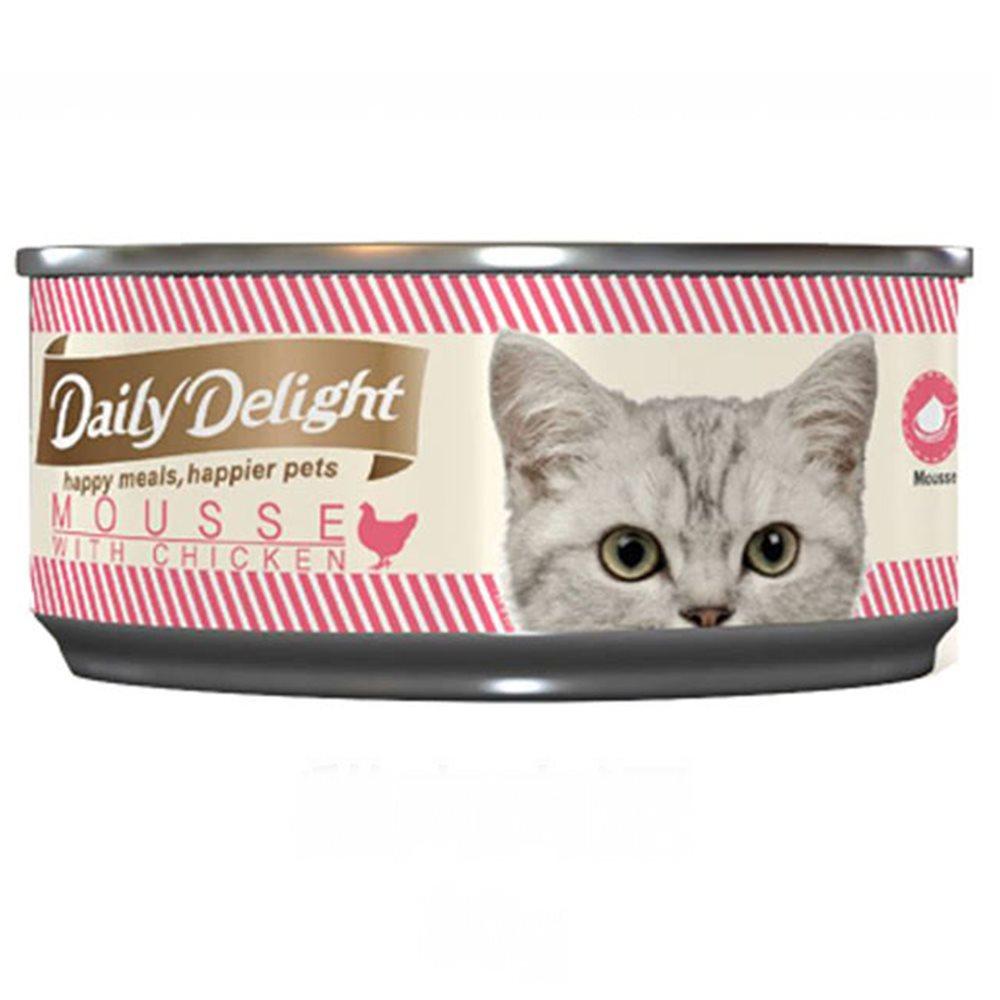 Daily Delight爵士貓吧-美味肉泥罐80g(48罐組)