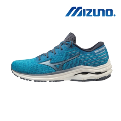 MIZUNO 美津濃 WAVE INSPIRE 17 WAVEKNIT 男慢跑鞋 J1GC212230