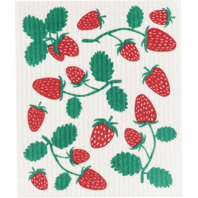 《NOW》瑞典環保抹布(草莓)