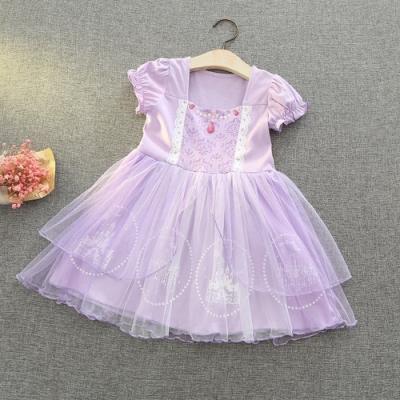 Kori Deer 可莉鹿 蘇菲亞公主洋裝 女嬰女童萬聖節變裝輕便版 派對造型攝影