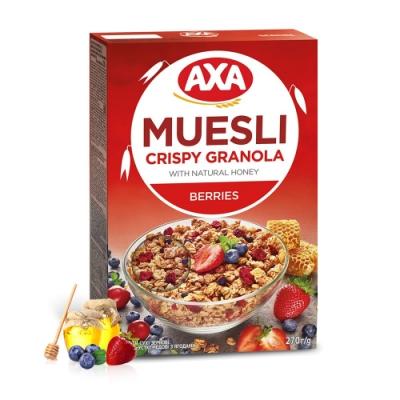 699免運瑞典AXA 藍莓草莓穀物麥片 270g