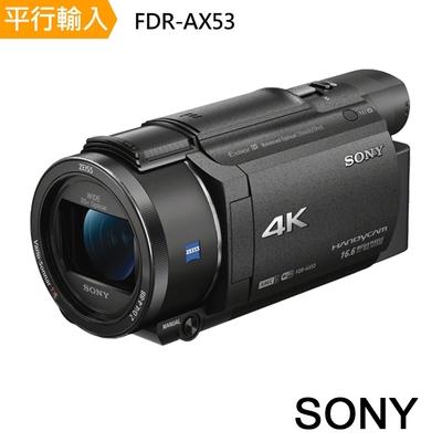 Sony FDR-AX53攝影機*(平行輸入)