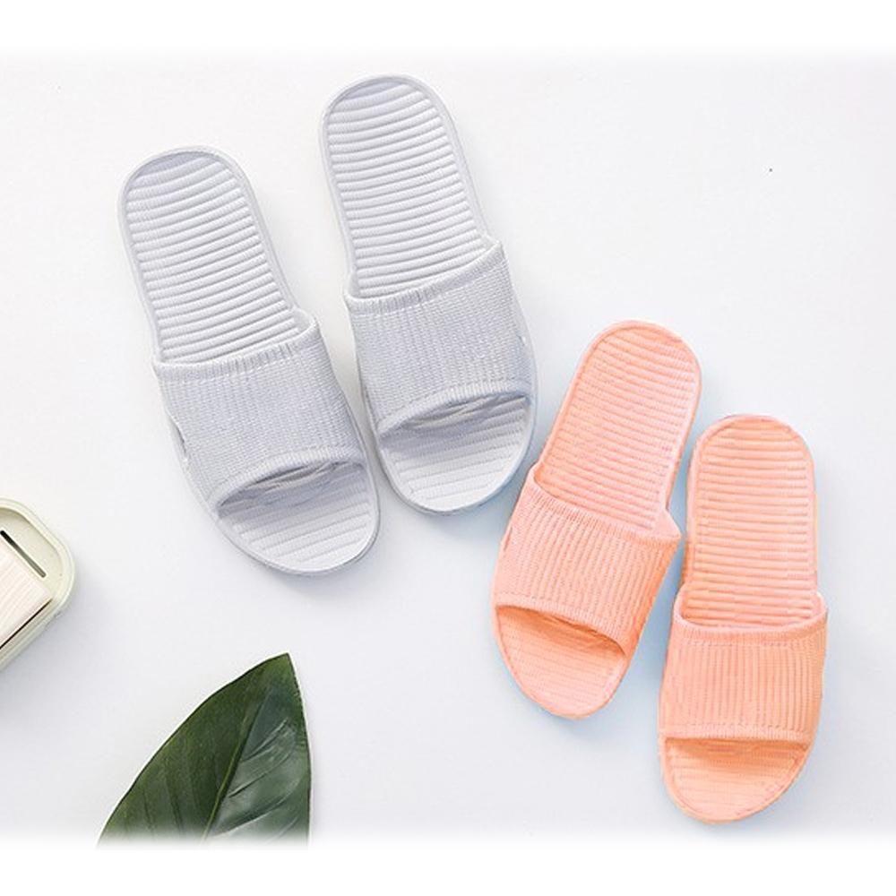 夏季一字拖居家EVA防滑超輕厚軟防水拖鞋(1雙)