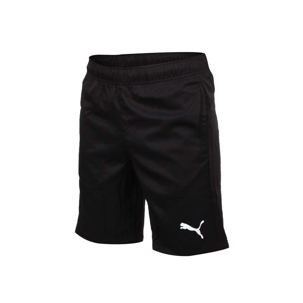 PUMA 男 基本系列9吋短風褲 黑白