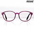 【Nessie尼斯眼鏡】抗藍光眼鏡-復古系列-PC1801(紅)