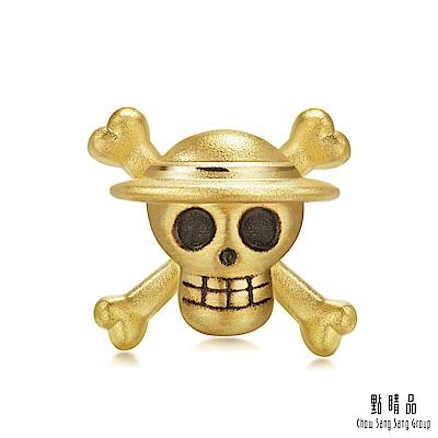點睛品 Charme 航海王One Piece 魯夫海賊旗 黃金串珠