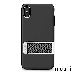 Moshi Capto for iPhone XS Max 指環支架織帶保護殼