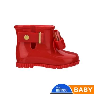 Melissa 低筒雨靴(寶寶款)-紅