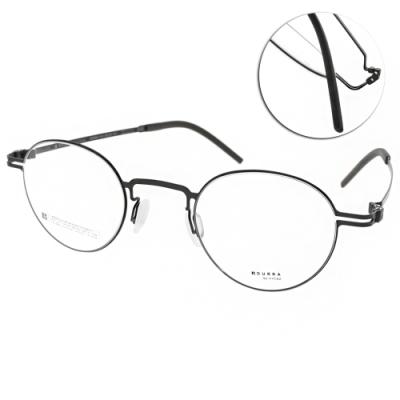 VYCOZ眼鏡 DURRA系列 薄鋼經典圓框款 /黑 #DR9004 BLK