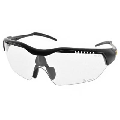 720運動太陽眼鏡  黑/灰底變色片 #720T948B3-46-F