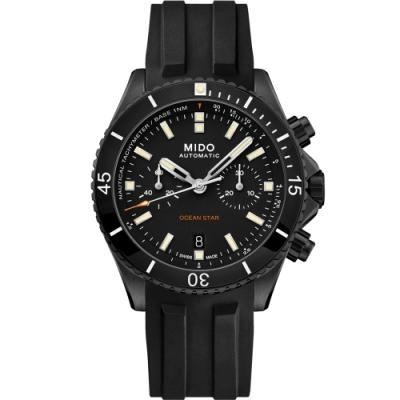 MIDO美度 Ocean Star海洋之星特別版計時潛水機械錶 M0266273705100-44mm