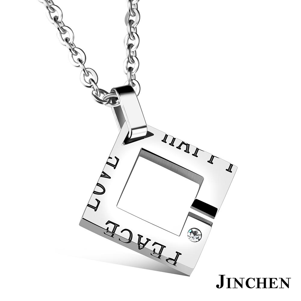 JINCHEN 和平的愛 情侶項鍊 product image 1