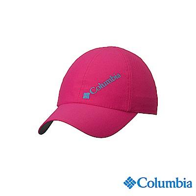 Columbia 哥倫比亞中性-UPF50防潑快排棒球帽-桃紅UCU01290FC