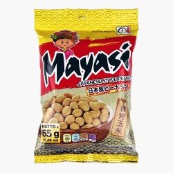 Mayasi日本娃娃 香酥花生-香烤玉米(65g/包)