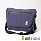 【METODO防盜包】Messenger Bag 不怕割郵差包TSL-402星空藍/耐磨防潑水/旅遊包/休閒包 product thumbnail 2