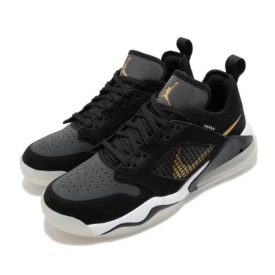 Nike 籃球鞋 Jordan Mars 270 Low 運動 男鞋 氣墊 避震 喬丹 舒適 運動 包覆 球鞋 黑 金 CK1196017