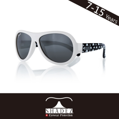 瑞士SHADEZ兒童太陽眼鏡SHZ-65(年齡7-15)--白黑雲朵