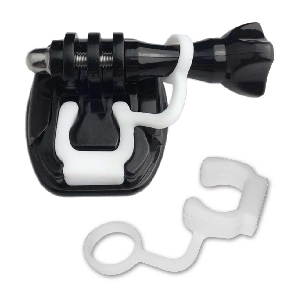 GoPro 副廠 (2入)快拆防脫扣環+(1入)快速安裝卡扣(含螺旋鈕)