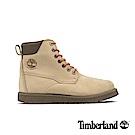 Timberland 男款中駝色磨砂革靴 A28BS