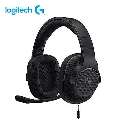 羅技 G433 7.1聲道有線遊戲耳機麥克風 贈 G402 光學電競滑鼠