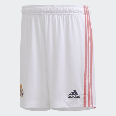 adidas REAL MADRID 20/21 主場球褲 男 FM4733