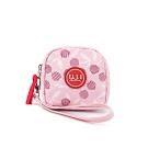 ELLE Active 法式櫻桃系列-零錢包-粉紅色