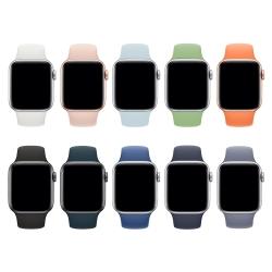 LUCCIDA Apple Watch 運動矽膠錶帶