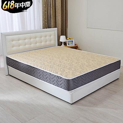 (特約活動)單大3.5尺-LooCa 蜂巢透氣圍邊獨立筒床墊