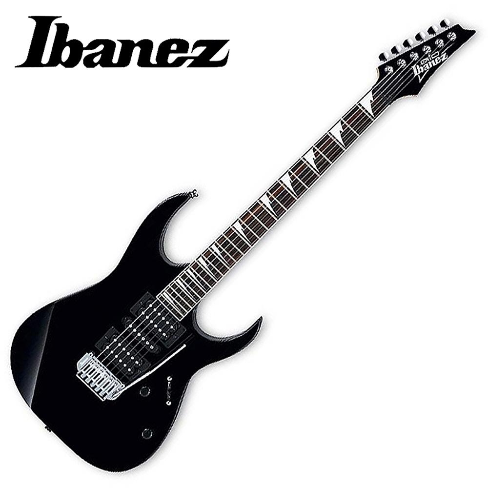 IBANEZ GRG-170DX 雙單雙/小搖座/電吉他(BKN)~黑色
