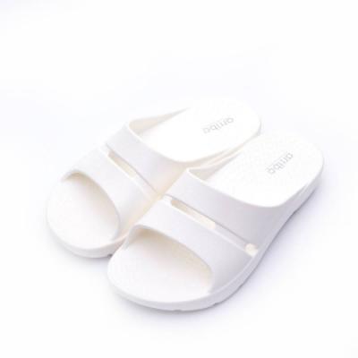 ARRIBA艾樂跑女鞋-厚底輕量防水拖鞋-白/藍/黑(61480)