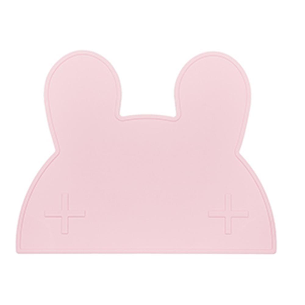 澳洲We Might Be Tiny 矽膠防滑餐墊兔寶寶-粉紅