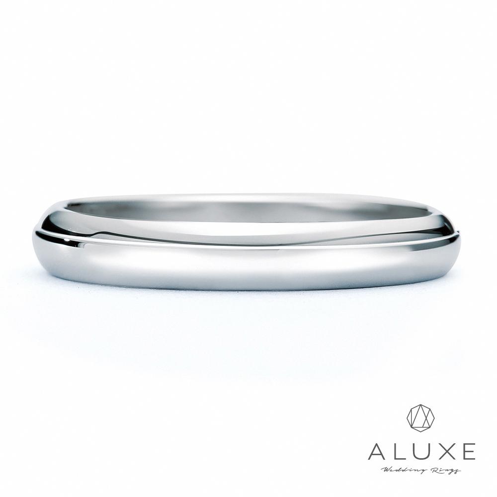 A-LUXE 亞立詩鑽石 PT950鉑金情侶結婚戒指-男戒