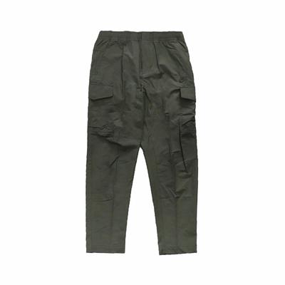 Nike 長褲 NSW Pants 運動休閒 男款 軍裝風格 抽繩 寬鬆隨興 穿搭推薦 綠 白 DD5208-355
