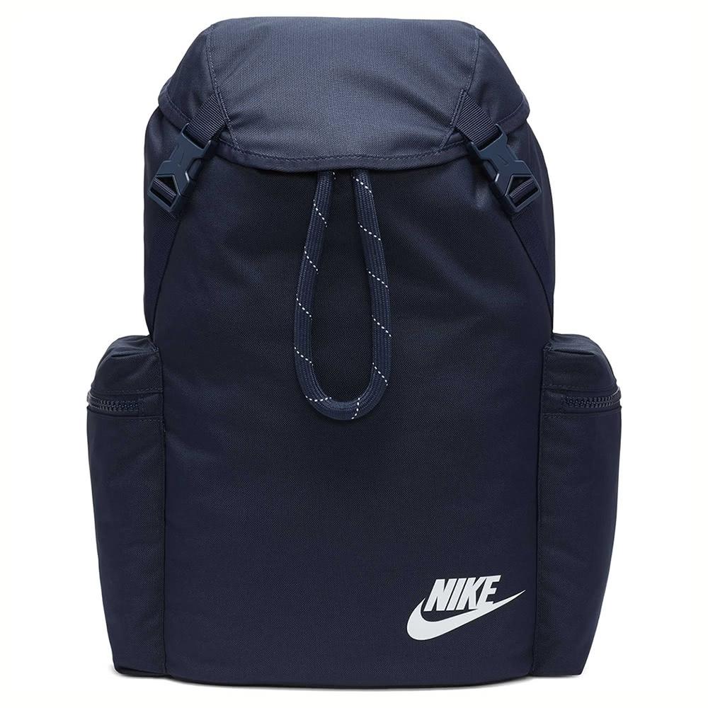 NIKE 後背包 運動 休閒 健身 束口 雙肩  藍 BA6150451 NK HERITAGE RKSK