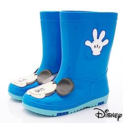 迪士尼童鞋 米奇雨鞋款 ON18819藍(中小童段)
