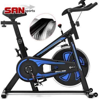 【SAN SPORTS】勇士競速飛輪車(皮帶傳動)  飛輪健身車