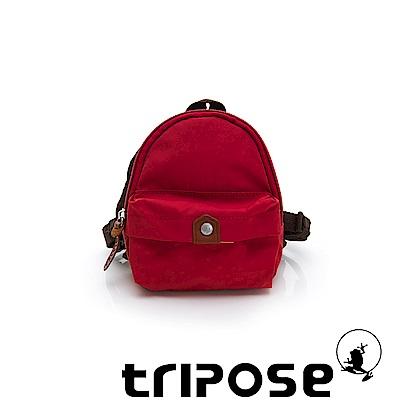 tripose MEMENTO系列尼龍輕量防潑水寵物背包-紅色