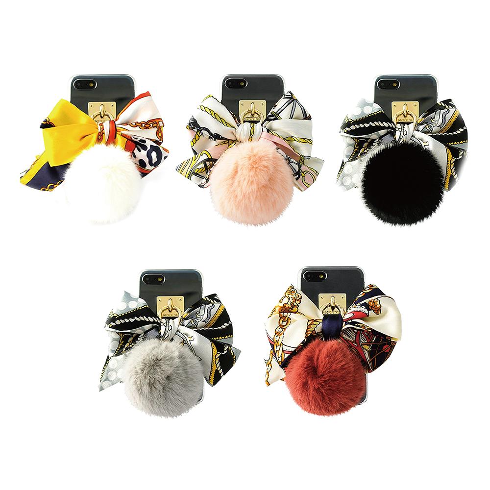 DDPOP iPhone 7 Plus 精品領巾吊飾手機防摔殼
