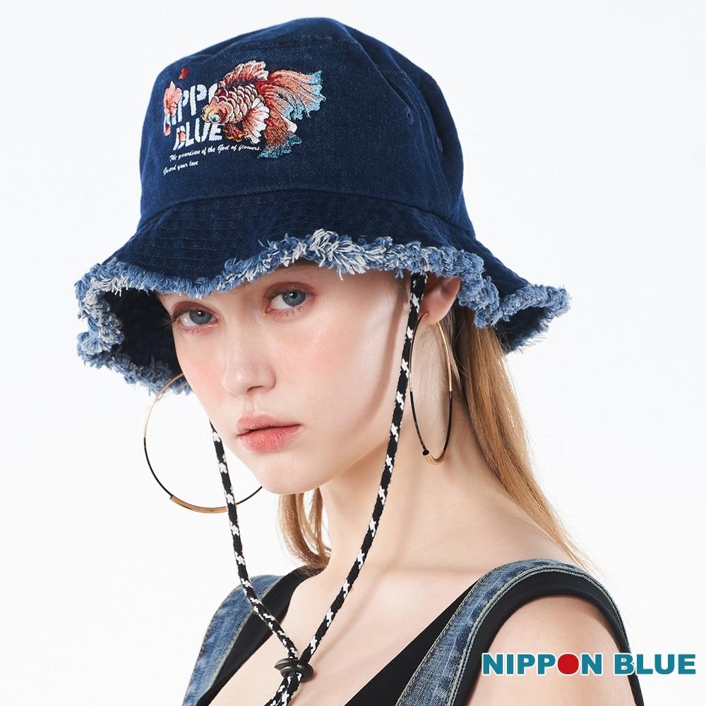 日本藍 BLUE WAY – 網路獨家-水金魚漁夫帽(女款)