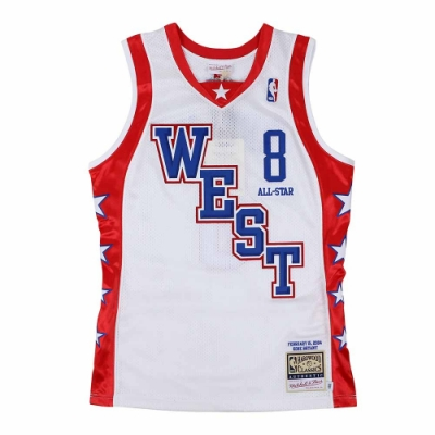 M&N Authentic球員版復古球衣 All-Star Game 2004 #8 Kobe Bryant