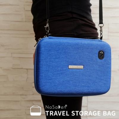 NaSaDen 3C收納袋→手機 3C專用收納袋 (萊茵藍)