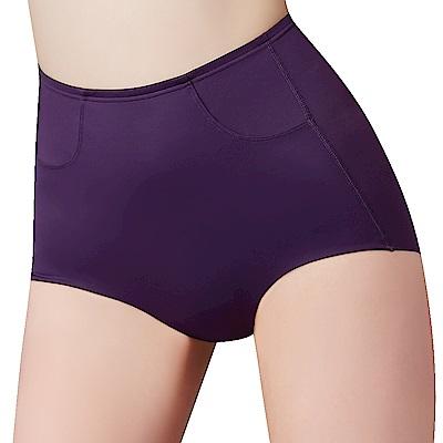 思薇爾 輕塑型系列64-82高腰平口束褲(戀紫色)