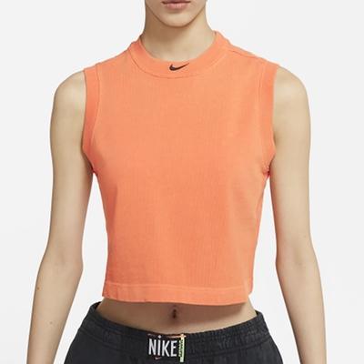 NIKE 背心 運動 籃球 慢跑 訓練 女款 橘 CZ9853858 AS W NSW WASH TNK TOP