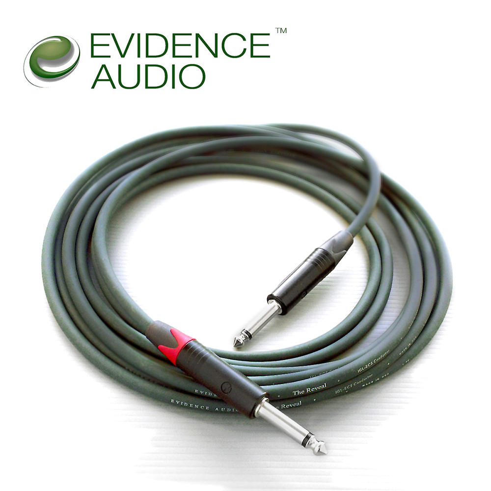 Evidence Audio Reveal 3M II 樂器導線