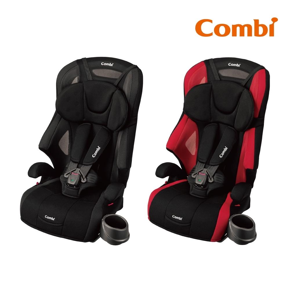 【Combi】Joytrip S 成長型汽車安全座椅 炫目紅/洗練黑