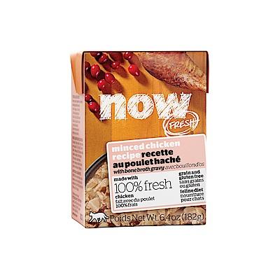 NOW FRESH真鮮利樂貓餐包 嫩絲無穀鮮雞 182g 12件組